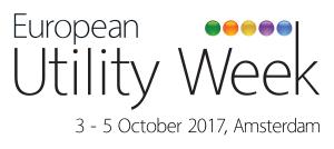 European Utility Week in Amsterdam (NL) on 3-5 October, 2017