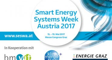 Join Smart Energy Systems Week Austria (SESWA) in Graz (AT) on 15-19 May, 2017