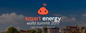 Smart Energy World Summit in Lisbon (PT) on 24-25 October, 2017