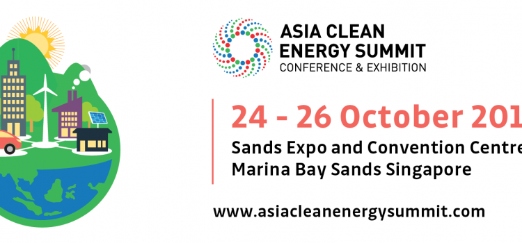 Join Asian Clean Energy Summit in Singapore