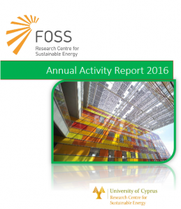 FOSS' Achievements in New Annual Report for 2016