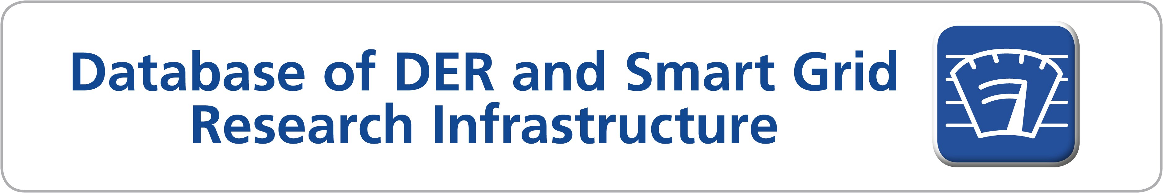 Database of DER and Smart Grid Research Infrastructure