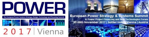 Save the Date: Power Europe 2017 in Vienna (AT) on 27-29 November, 2017