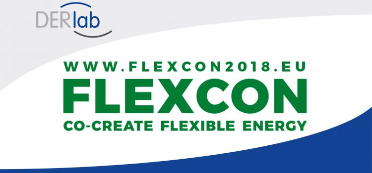 DERlab partners with FLEXCON 2018