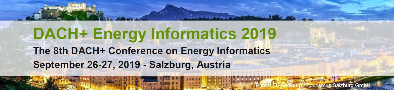 Join the 8th DACH+ Energy Informatics 2019 Call for Papers