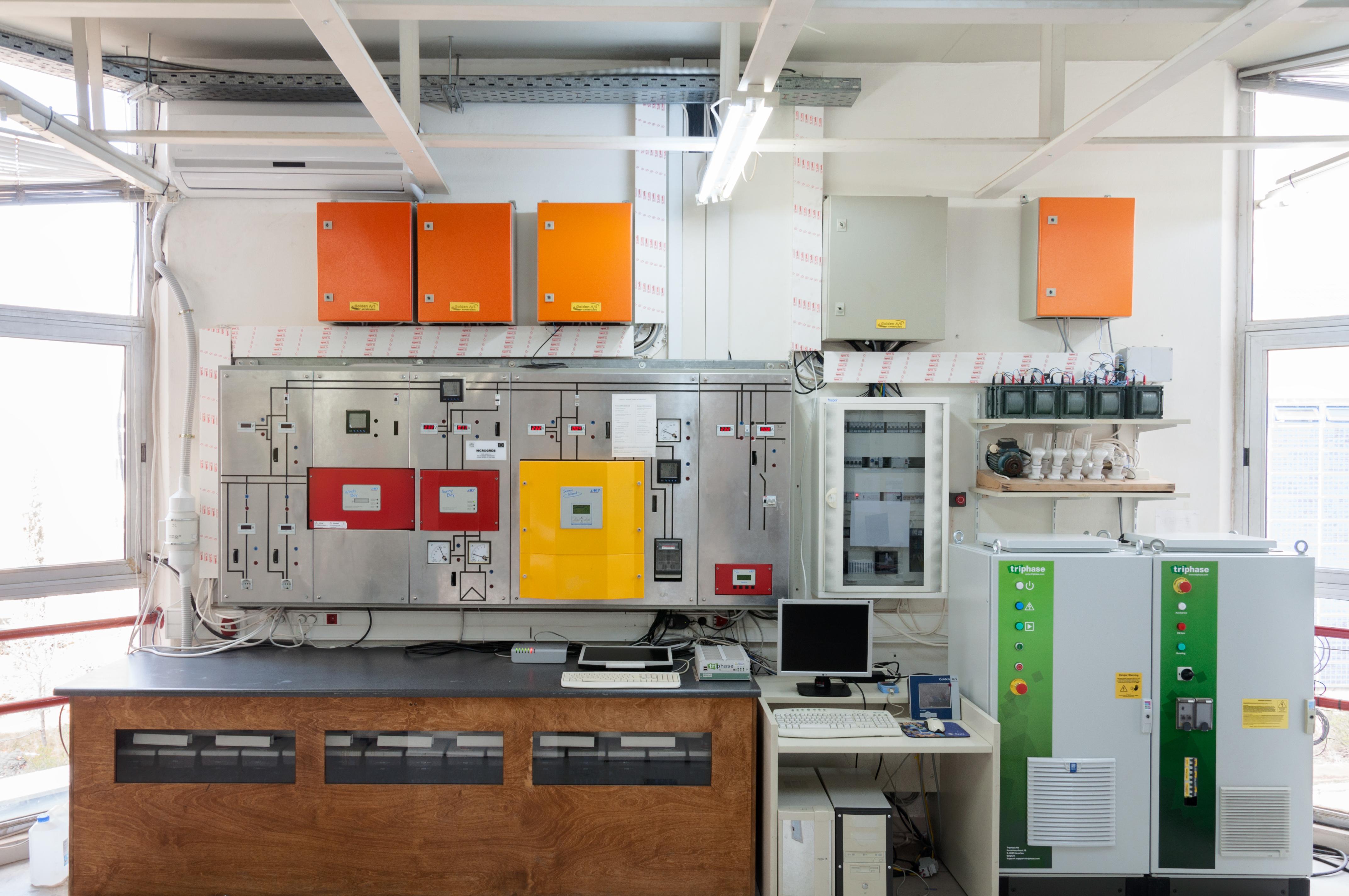 Laboratory-microgrid-of-ICCS-NTUA