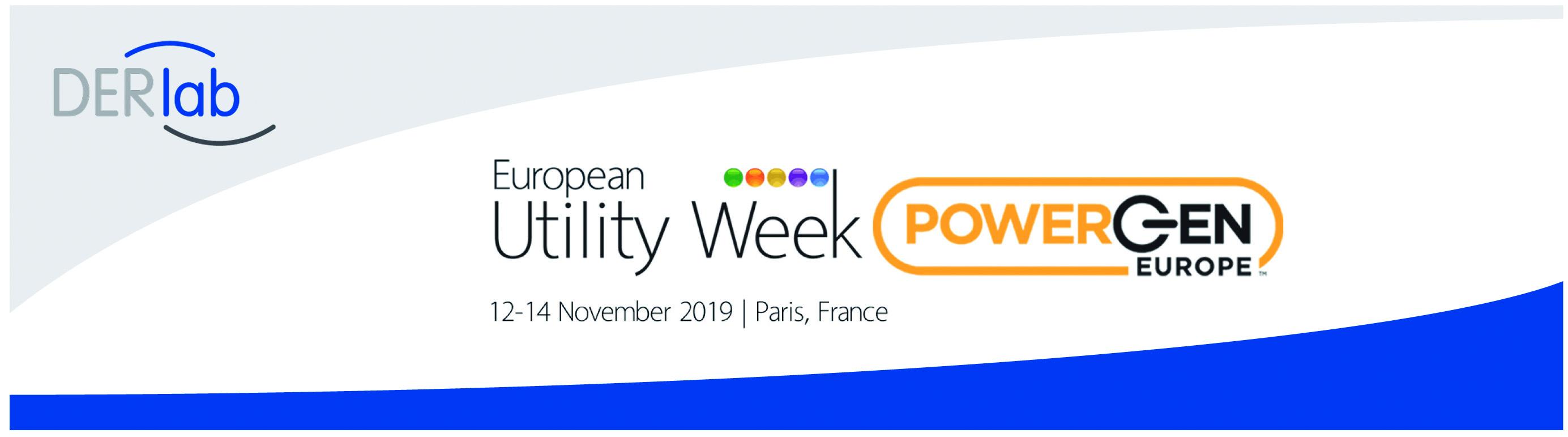 DERlab partners with European Utility Week 2019