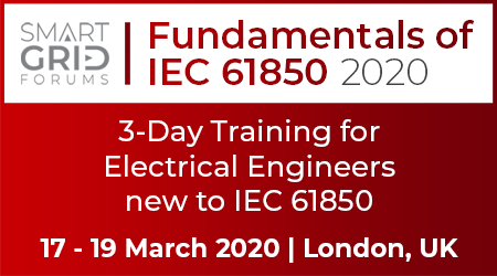 Fundamentals of IEC 61850 2020 – Intensive 3-day Training Programme for Electrical Engineers new to IEC 61850