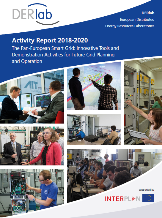 DERlab Activity Report 2018-2020