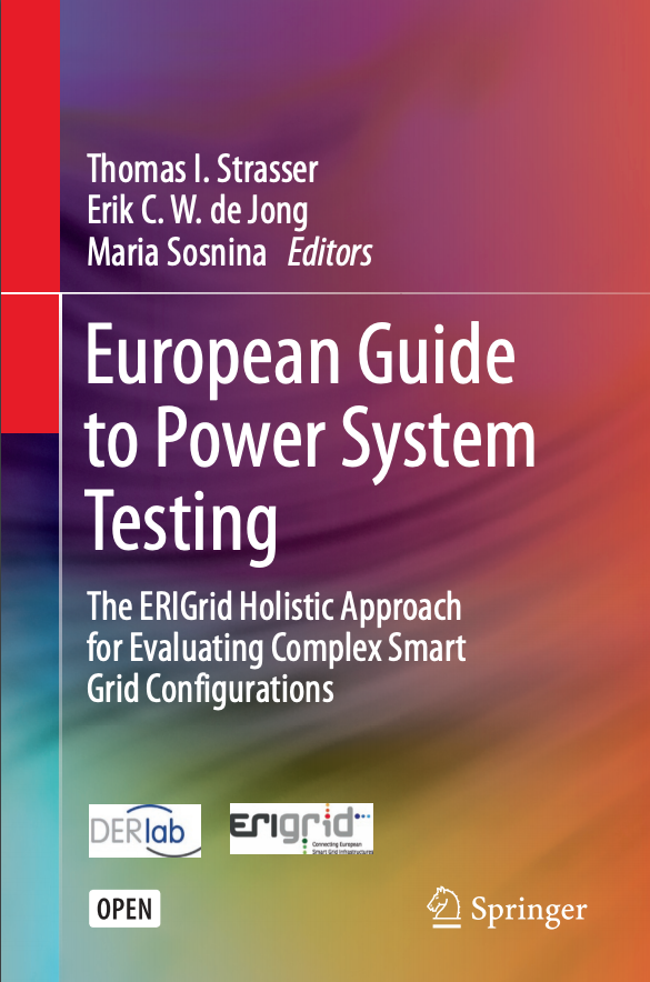 ERIGrid project white book: European Guide to Power System Testing