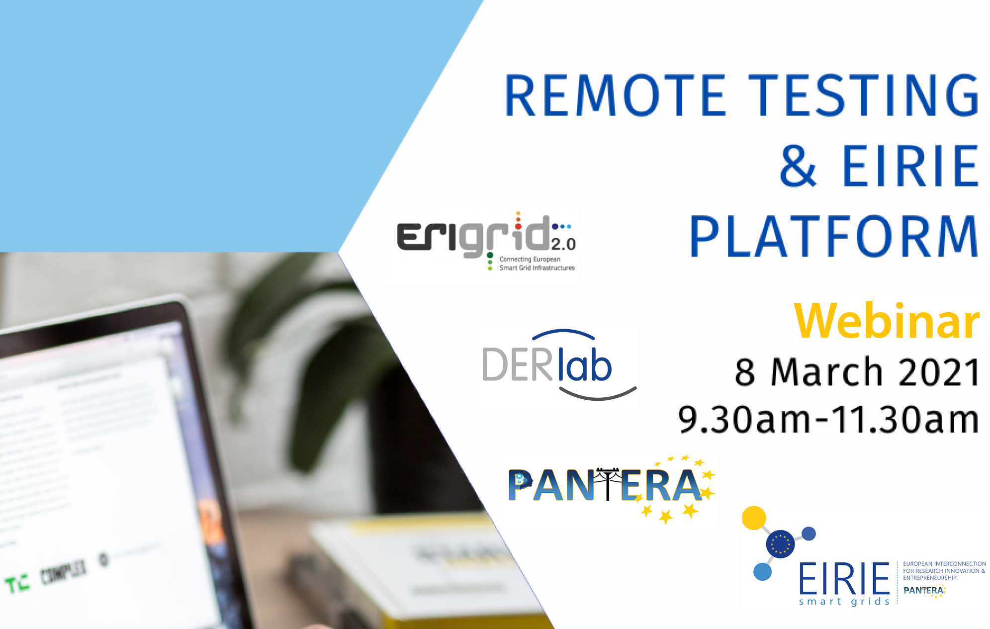 """Remote Testing & EIRIE Platform"" Webinar available on-demand"