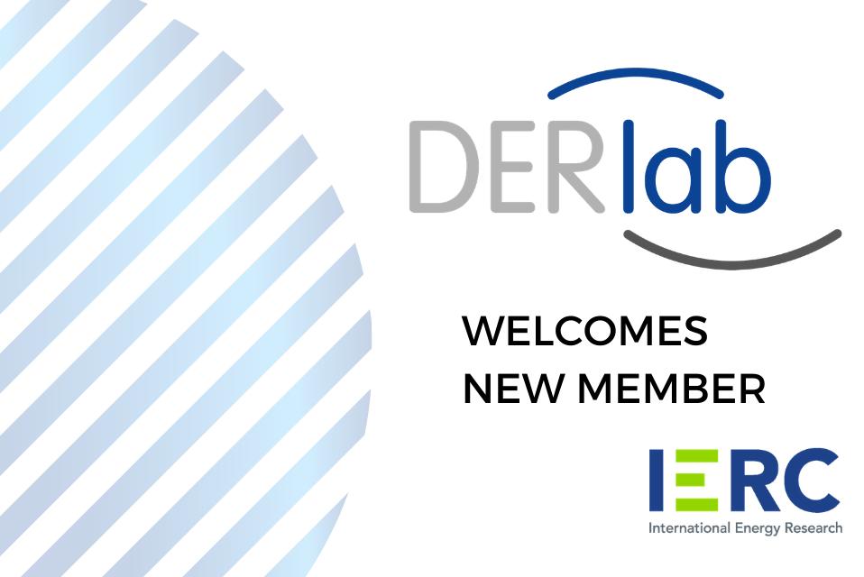DERlab welcomes new member