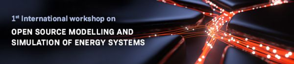 """Register now for the 1st International workshop on """"Open Source Modelling and Simulation of Energy Systems"""""""